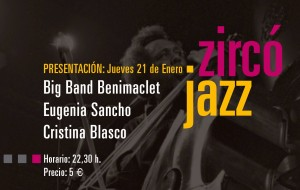 CIM Benimaclet 160121 Big Band Zircó Jazz