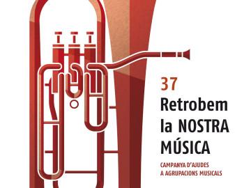 """Concert """"Retrobem la Nostra Música"""" de la Banda, divendres 23, 20.30 h."""