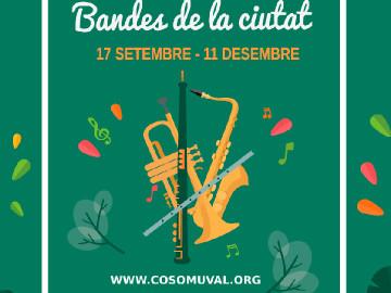 La Banda Simfònica al Parc de Benicalap, diumenge 2 d'octubre, 12.00 h.