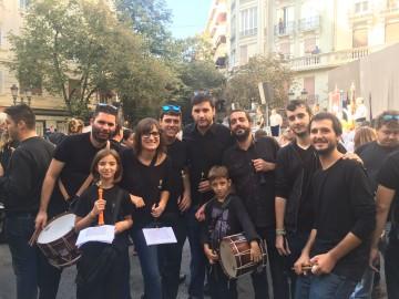 La Colla de Dolçaina del CIM de Benimaclet en l'Homenatge a Joan Blasco.