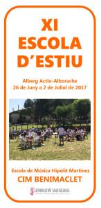 CIM Benimaclet Escola Estiu 2017 portada