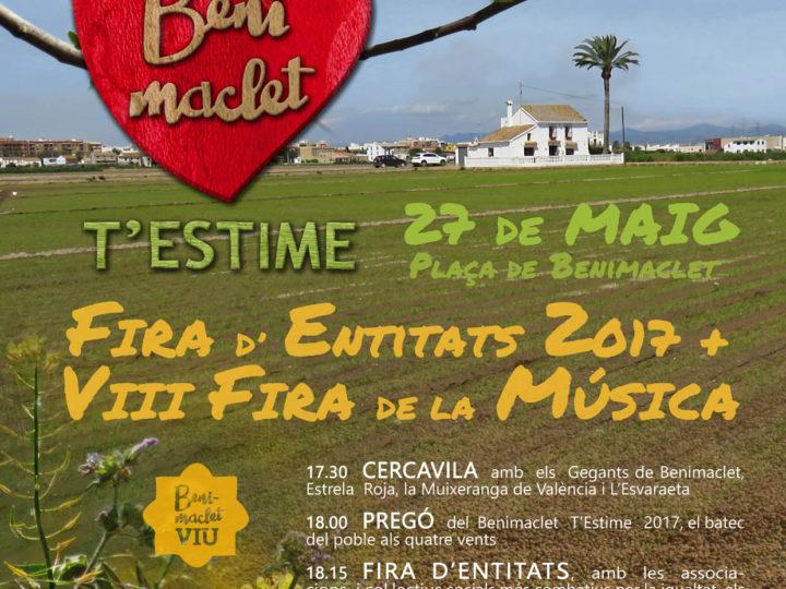 El CIM de Benimaclet al Benimaclet T'Estime, plaça de Benimaclet, dissabte 27 de maig, 17.30 h.