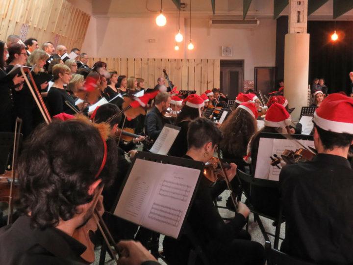 Concert de nadal del Cor i l'Orquestra del CIM de Benimaclet, diumenge 16 de desembre de 2018, 12.00 h.