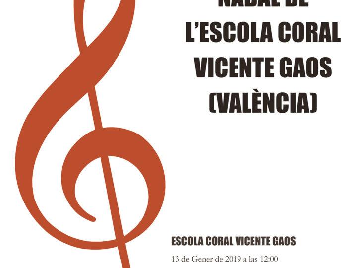 Les corals Vicente Gaos del CIM de Benimaclet a Sant Mateu, diumenge 13 de gener de 2019, 12.00 h.