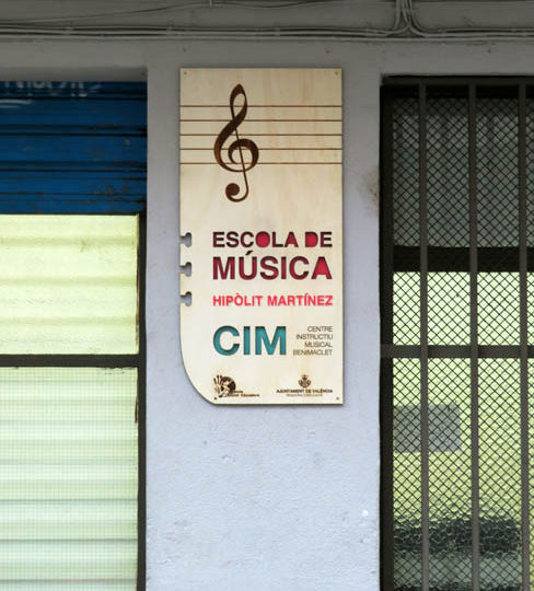 Represa de les activitats educatives a l'Escola de Música Hipòlit Martínez del CIM de Benimaclet.