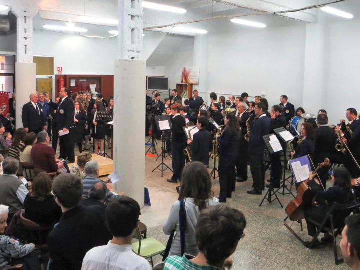 La Banda Juvenil del CIM de Benimaclet amb la Banda de Morata de Jalón, diumenge 24 de març de 2019, 11.30 h.