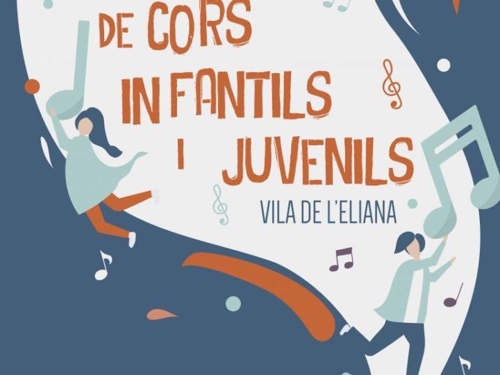 XVIII Trobada de Cors Infantils i Juvenils Vila de l'Eliana, diumenge 5 de maig de 2019 des de les 9.30 h.