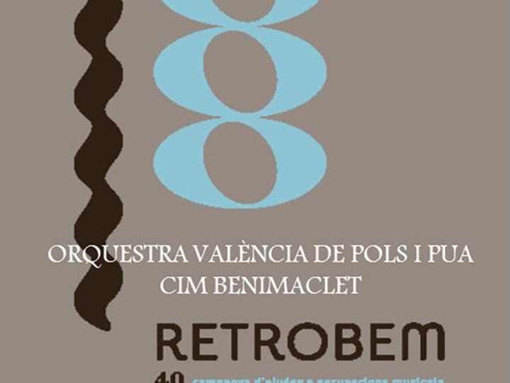 Concert Retrobem la nostra música de la Rondalla del CIM de Benimaclet, diumenge 19 de maig de 2019, 18.00 h.