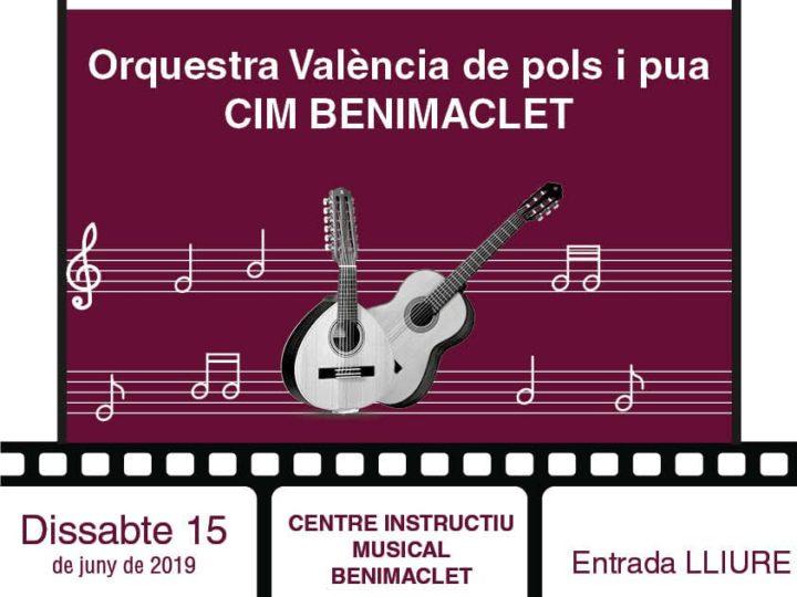 """La Rondalla del CIM presenta """"Un concert de cine"""", dissabte 15 de juny de 2019, 20.00 h."""