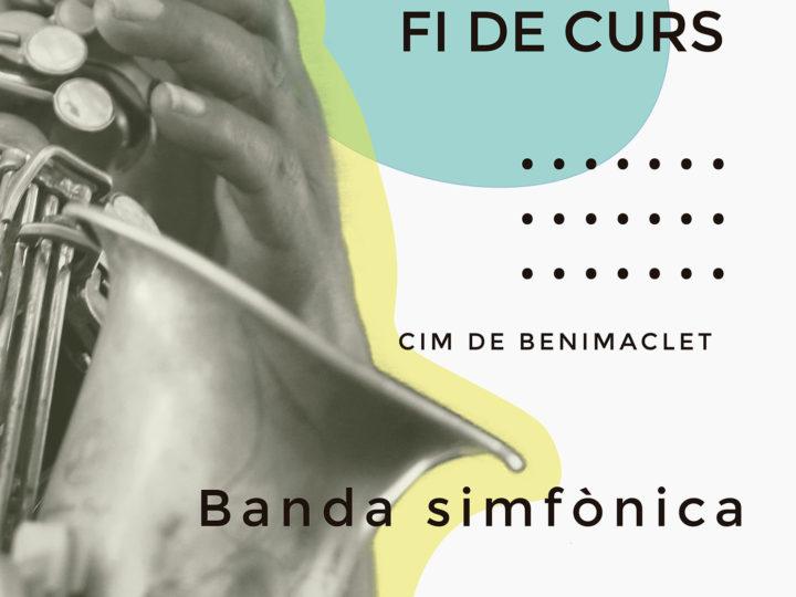 La Banda Simfònica del CIM de Benimaclet tancarà temporada i cicle en concert matinal, proper diumenge 23 de juny a les 12.00 h.
