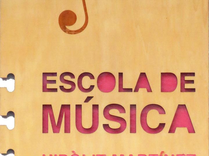 Gran Audició de Fi de Curs de l'Escola de Música Hipòlit Martínez del CIM de Benimaclet, dissabte 15 de juny de 2019, IES Benlliure, 11.00 h.