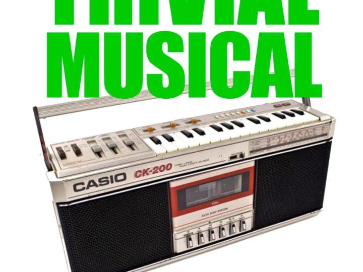 Trivial Musical, nova proposta lúdica i cultural, dimecres 16 d'octubre de 2019, 20.30 h.