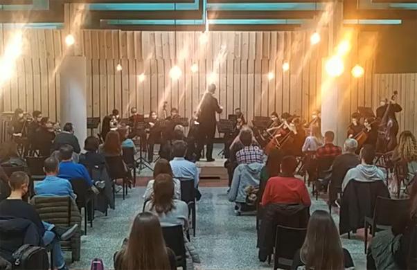 L'Orquestra Simfònica del CIM de Benimaclet a Alginet, dissabte 28 de novembre de 2020, 19.00 h.
