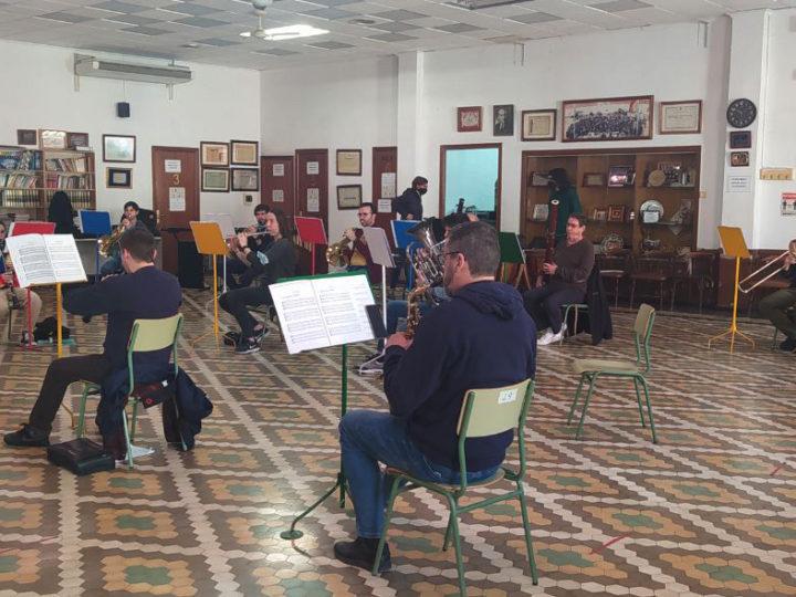 Les bandes de música reconegudes com a patrimoni immaterial espanyol el passat 30 de març de 2021.