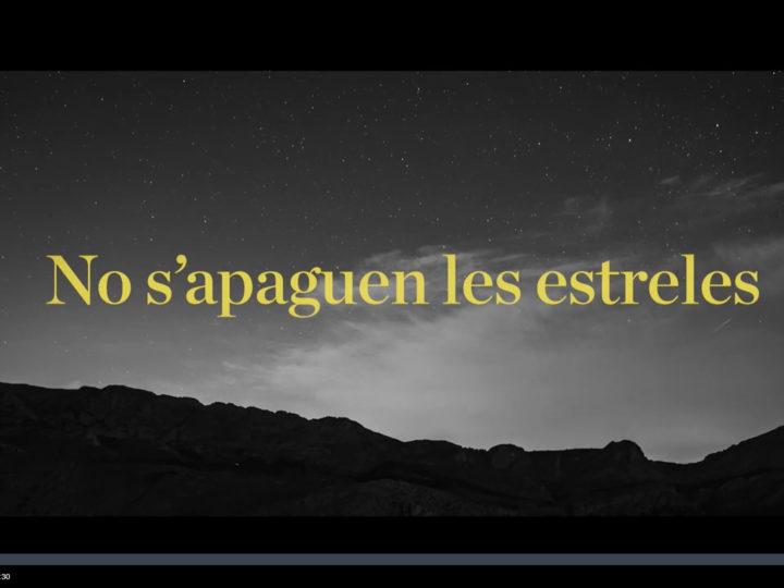 """El documental """"No s'apaguen les estreles"""", amb gent del CIM de Benimaclet, a À Punt fins el 29 de juny de 2021."""